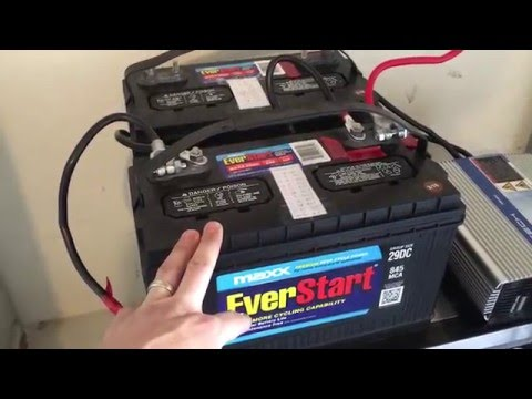 Battery backup power