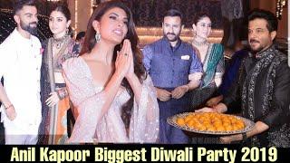Anil Kapoor BIGGEST DIWALI PARTY 2019 | SRK, Virat, Katrina, Kareena, Anushka