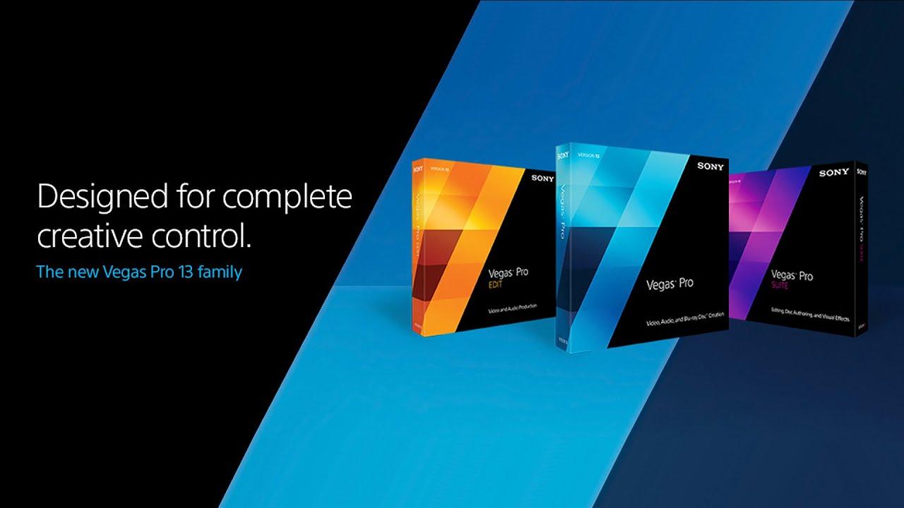 Sony Vegas Pro 13 0 Build 310 64 bit & 32 bit Patch Crack Key Download Last Version Full
