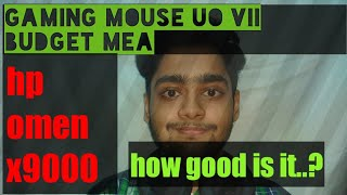 Gaming mouse_ budget hp omen x9000_in hindi