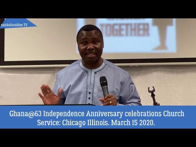 Ghana @ 63 Preaching Full Length Video