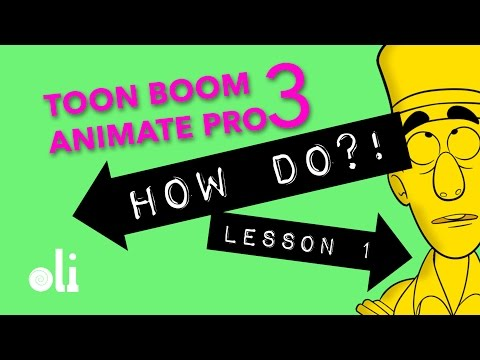 Toon Boom Animate Pro 3 Lesson 1 - General Drawing