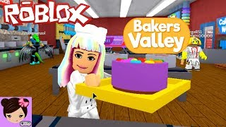 Roblox Bakers Valley Roleplay - Baking Cakes & Camping with the Baker Squad
