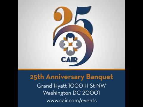 Save the Date for CAIR's 25th Anniversary Banquet