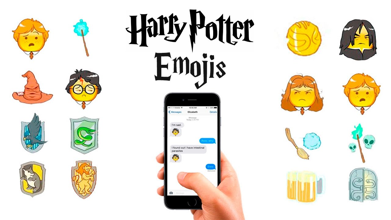 Harry Potter Emoji Keyboard for iOS & Android | Download Emoji
