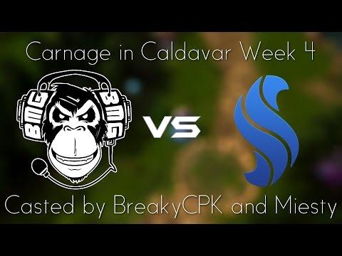"""The game of Doom Bringers"" BMG vs SynC CiC Week 4 Game 1 Highlights"
