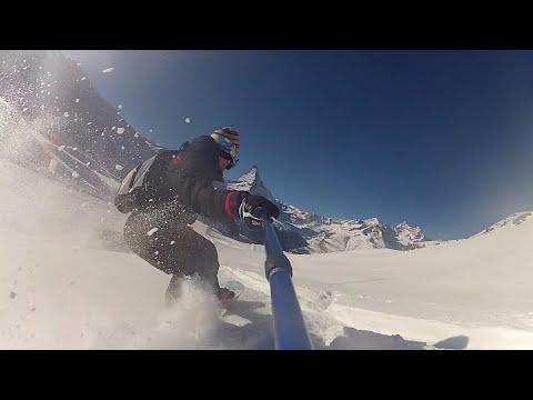 GOPRO ZERMATT SNOWBOARDING 2015