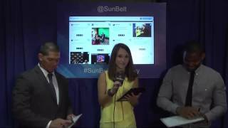 Sun Belt Media Day Social Suite:  Idaho Student Atheltes