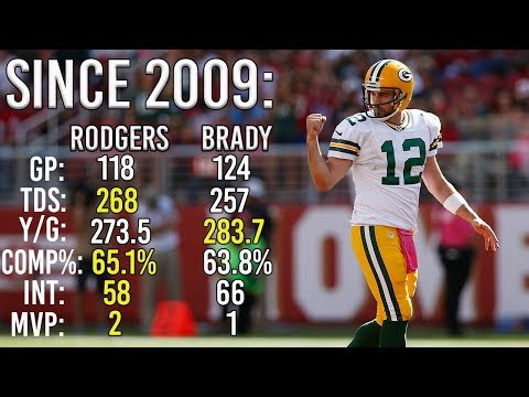 10 Reasons Why Aaron Rodgers May Be Better Than Tom Brady