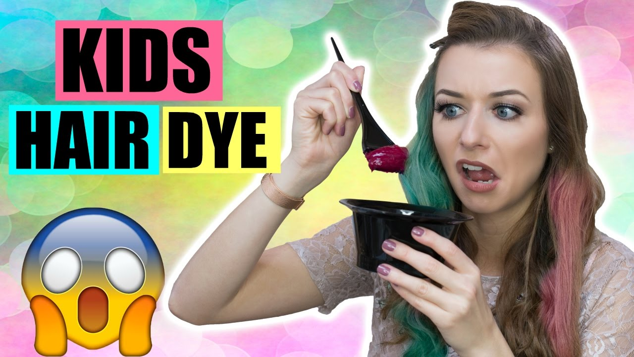 Does Kids Hair Dye Actually Work Youtube