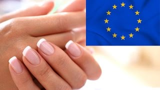 Европейский классический маникюр - особенности и технология - необрезной маникюр
