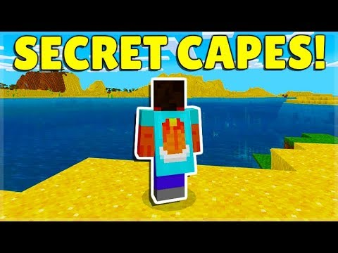 MCPE/BEDROCK 1.13 SECRET Pancakes CAPE & BROKEN Feature BUGS