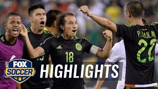 Mexico vs. Costa Rica Recap - 2015 CONCACAF Gold Cup Highlights