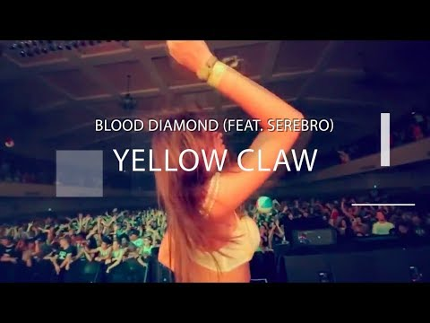 Yellow Claw (feat serebro) - Blood Diamond / (amateur video)