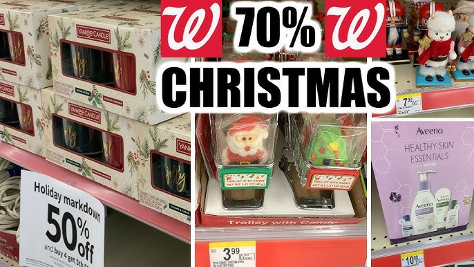 When Will Walgreens Christmas Clearance Be 75% Off January 2021 Walgreens Christmas Clearance 70 Deets Youtube