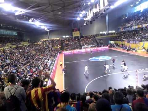 FINAL Uefa futsal cup 2012, Dinamo Moscú 1-3 Barça