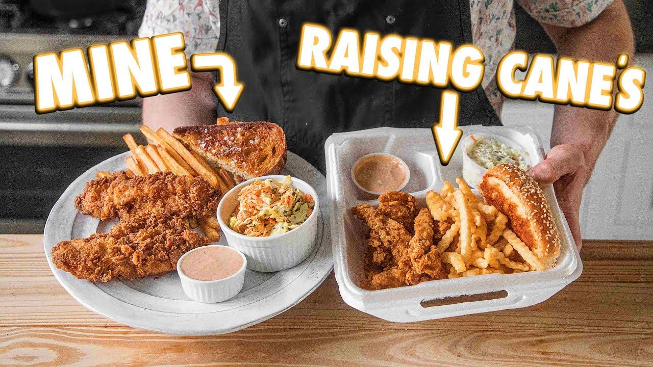 Raising Cane's Chicken Finger Combo (But Better)