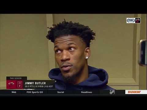 Jimmy Butler REACTS To Miami Heat Big Win Vs Indiana Pacers, Fight With TJ Warren
