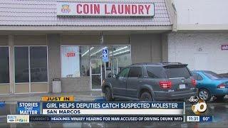 Girl helps deputies catch suspected molester
