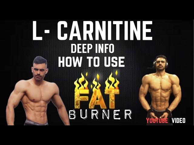 L-CARNITINE  BEST NATURAL FAT BURNER AND  MUSCLE BUILDER !- ਕਿਵੇਂ ? ਕਦੋ ?  Use ਕਰਨਾ Best Result ਲਈ!