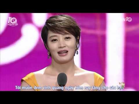 [Vietsub] TVN10 Award - Kim Hye Soo