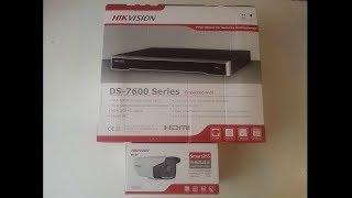 Видеонаблюдение от Hikvision: NVR DS-7608NI-I2 и IP-Cameras DS-2CD3T34-I5