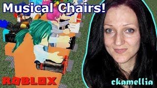 Sit, sit, sit! - Roblox Musical Chairs