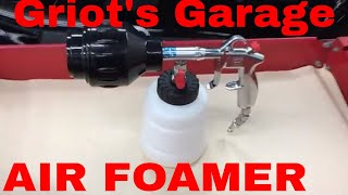 Griot's Garage Air Foamer Sudsing Tool!! Designed for both exterior and interior work!!