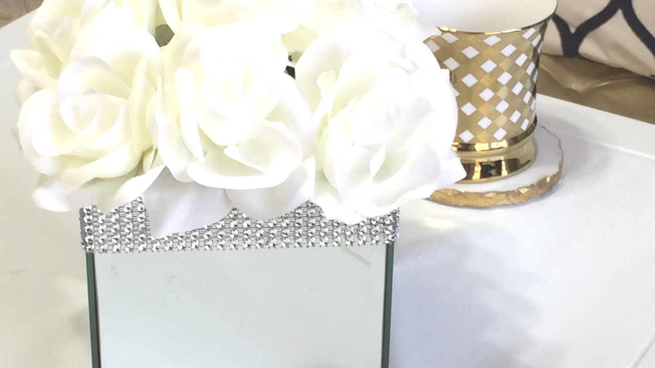 Dollar Tree Mirror Box DIY - YouTube