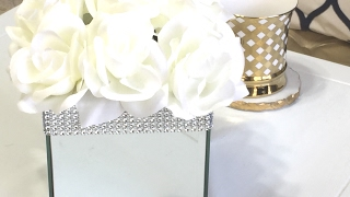 Dollar Tree Mirror Box DIY