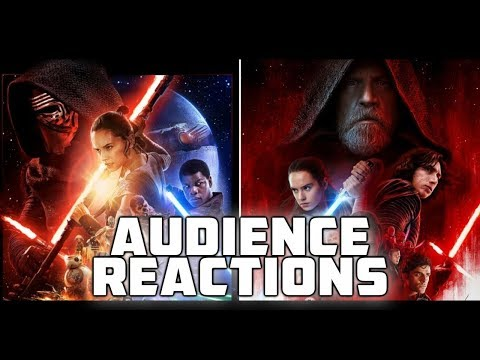 STAR WARS {DOUBLE FEATURE}: Audience Reactions | 2015 - 2017