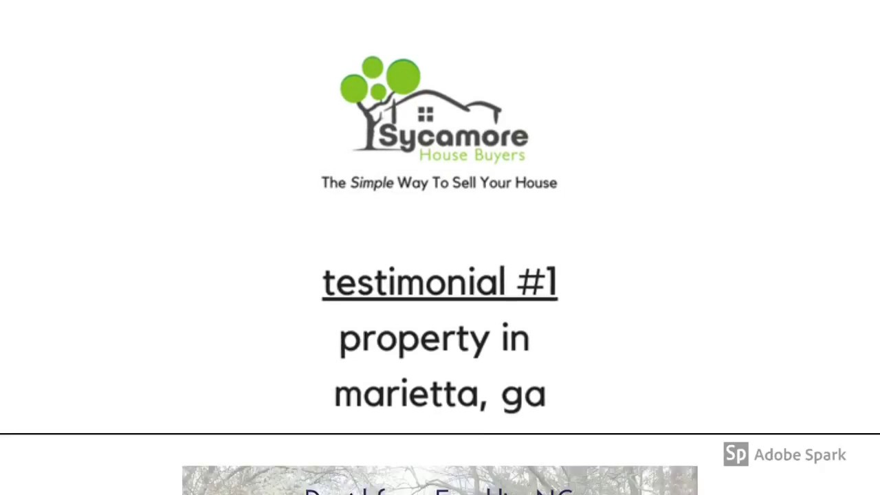 We Buy Houses Cobb County Marietta | 678-271-8429 | Sell My House Fast