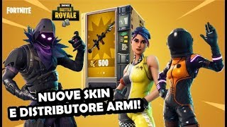NEW SKIN AND DISTRIBUTOR ARMI!!! FORTNITE ITA Update - PC