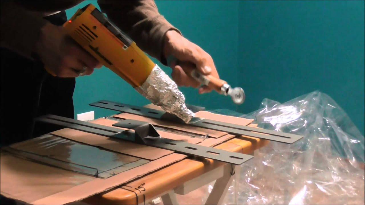 Heat sealing 10mil PVC vinyl