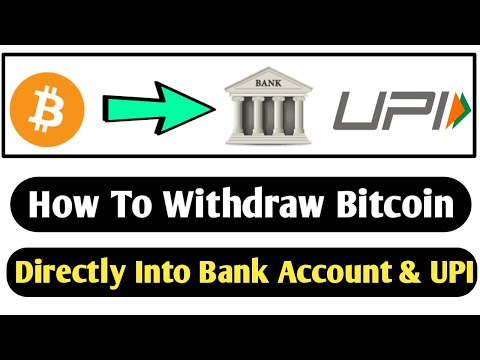 How To Withdraw Bitcoin To Bank Account And UPI || Full Legal Method