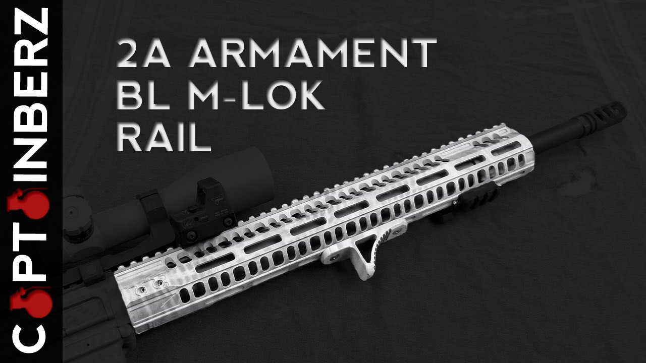 2A Armament BL M-LOK Rail (Great for an SPR/DMR!)
