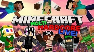 Minecraft MultiHardcore: Kosestream! (opptak)