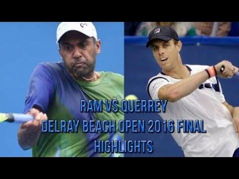 Sam Querrey Vs Rajeev Ram - Delray Beach Open Final (Highlights HD)