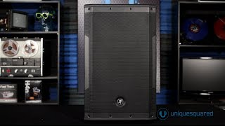 Mackie SRM550 Powered Loudspeaker Overview | UniqueSquared.com