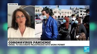 Coronavirus pandemic: Israel to vaccinate Palestinians with work permit