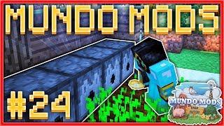 CONSTRUIMOS UN HUERTO GIGANTE AUTOMÁTICO! #24 🥔🌱 - MUNDO MODS: FARM EDITION | MINECRAFT MODS