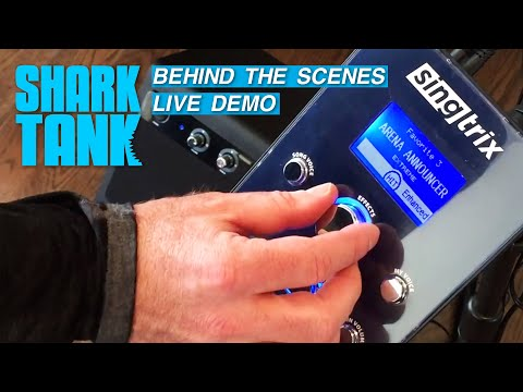 Shark Tank: John's Live Behind-The-Scenes Singtrix Performance