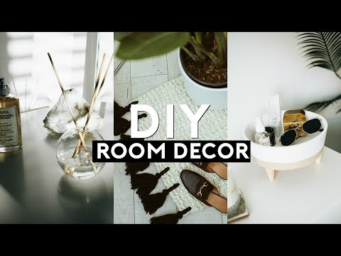 DIY TUMBLR ROOM DECOR (Minimal + Trendy) 2018 | Nastazsa