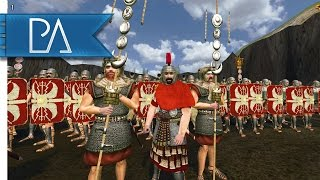 Romans Vs Barbarians: Gladiator Battle Scene - Rise and Fall - Mount & Blade: Warband Gameplay