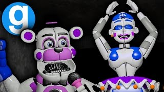 Five Nights at Freddy's: Sister Location Pill Pack Is Here Now | Sister Location Gmod Hide and Seek