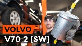 Hoe een brandstoffilter vervangen op een VOLVO V70 2 (SW) [AUTODOC-TUTORIAL]