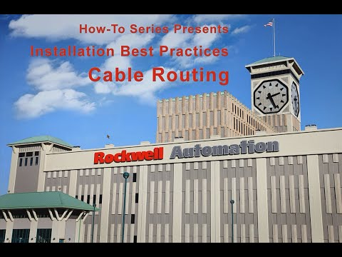 PowerFlex Drives Installation Best Practices - Cable Routing - YouTubeYouTube