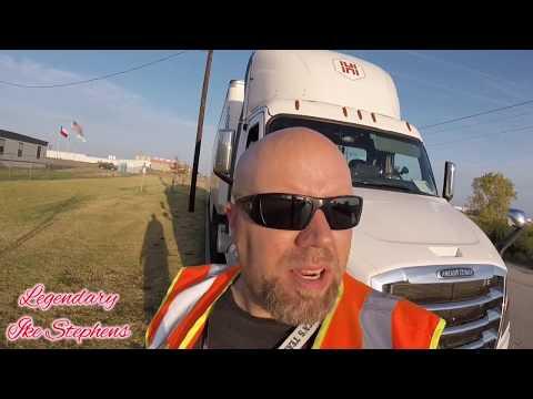 OTR Truck Parking   Walmart DC   Cleburne Texas