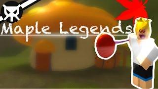 Maplestory on ROBLOX?! ▼ Maple Legends [ALPHA] ▼ Part 1