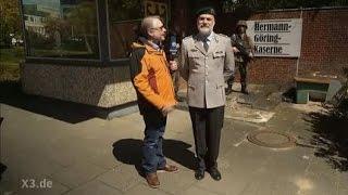 """""""extra 3"""" BUNDESWEHR:  NEUES AUS DER HERMANN-GÖRING- KASERNE"""